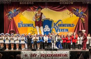 Der Essener Karnevals-Verein e.V. feiert den Volkskarneval 2016 in der Grugahalle.