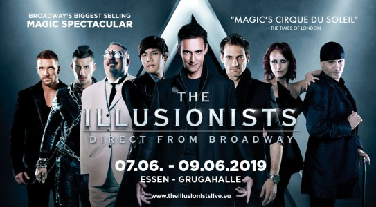 THE ILLUSIONISTS – DIE BROADWAYSHOW