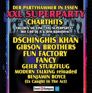 CHART SHOW - The XXL SUPERPARTY  in ESSEN