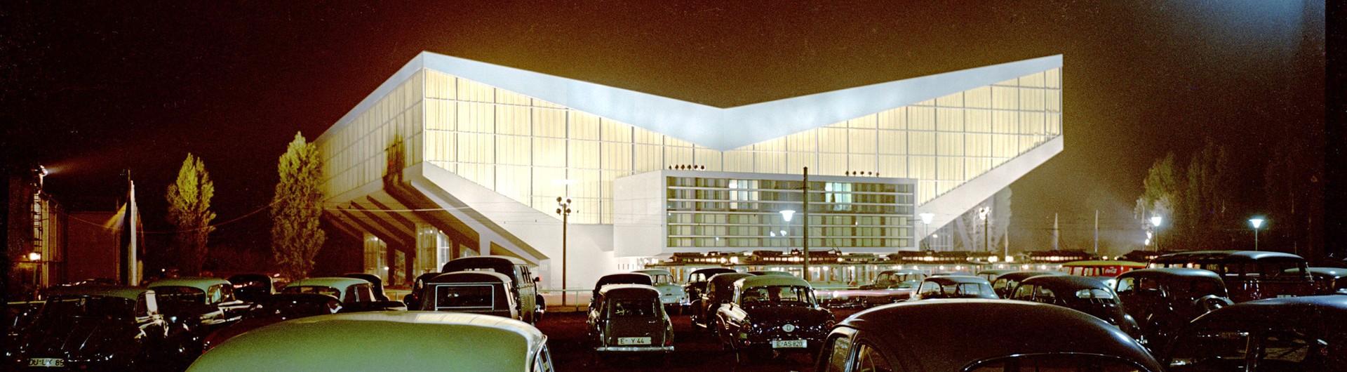 Historisches Bild der Grugahalle