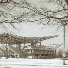 Bau der Grugahalle