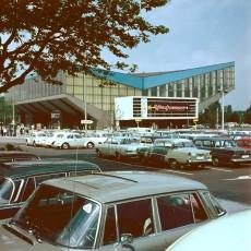 Die Grugahalle in den 1960ern