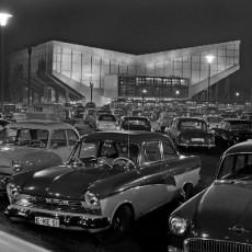 Die Grugahalle in den 1950ern