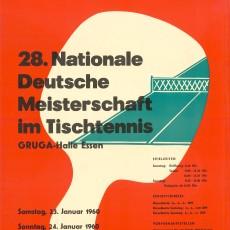 Deutsche Meisterschaft im Tischtennis 1960